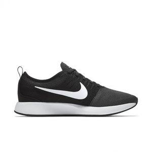 Basket Nike Dualtone Racer Gs 917648 - 009 Noir Noir Noir - Achat / Vente basket  - Soldes* dès le 27 juin ! Cdiscount