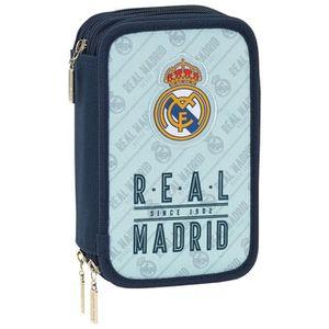 TROUSSE À STYLO Real Madrid 2018 Trousses, 20 cm, 1.5 liters, Gris