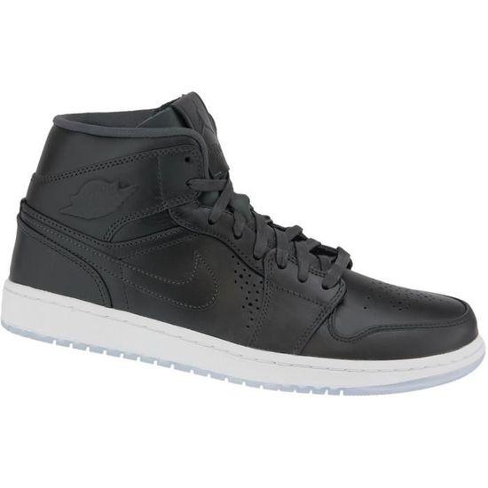 Nike 629151-003 Air Jordan 1 Mid 629151-003 Nike Homme Baskets   Noir - Achat / Vente basket 840f48