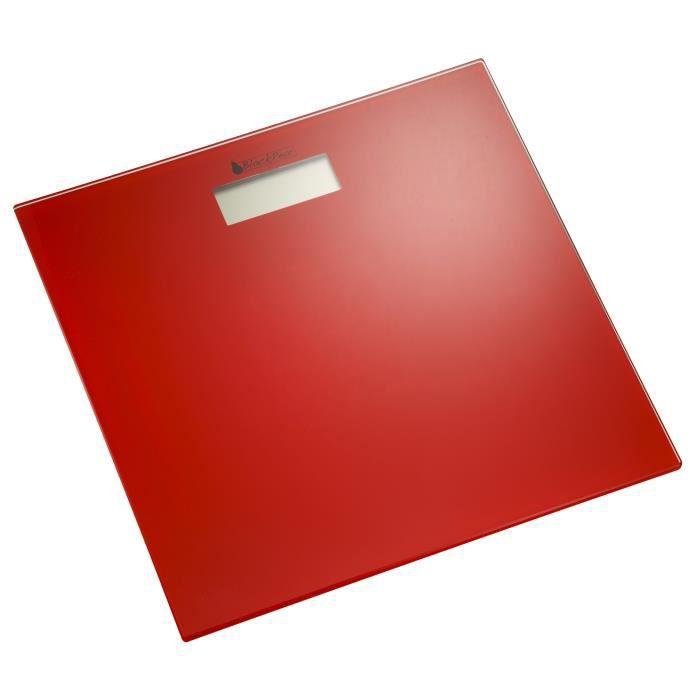 BLACK PEAR BPP 168 Pèse-personne - Rouge
