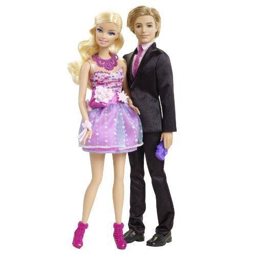 X4878 mattel barbie et ken ensemble cadeau achat vente poup e cdiscount - Image barbie et ken ...