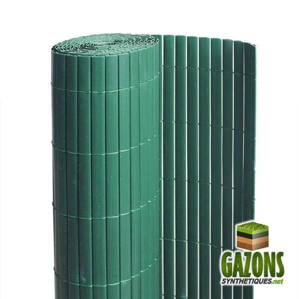 Canisse PVC Vert Double Face 1.20m x 3m