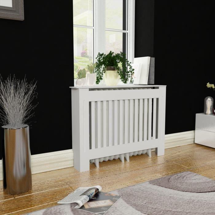 Radiateur Salon cache-radiateur pour salon et rangement de cadres de photos ou