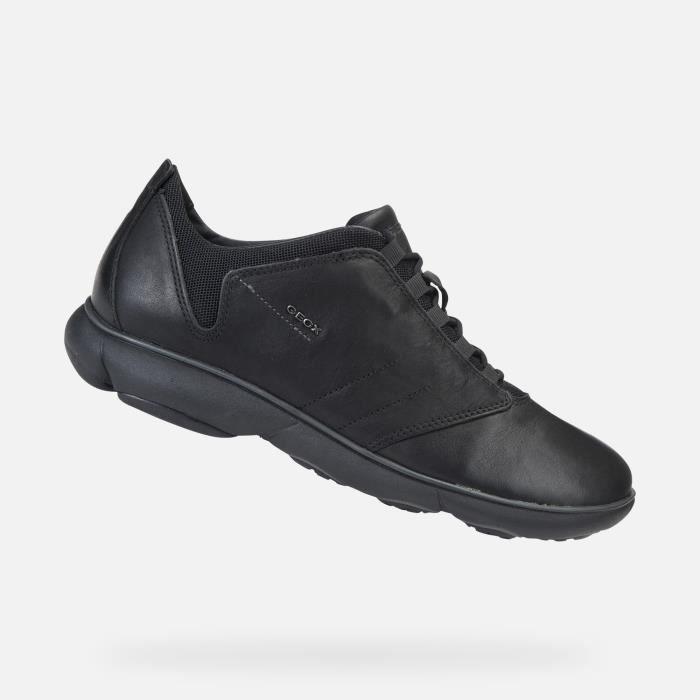Homme Geox Sneakers BLACK Sneakers Homme Sneakers Geox Geox BLACK Homme q68wpB