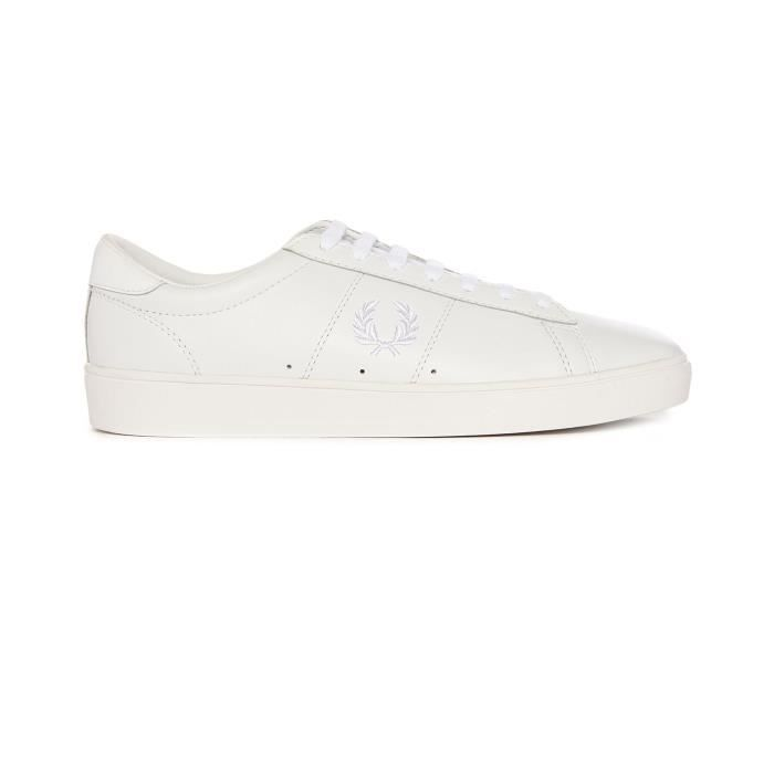 Sneakers Spencer Cuir Blanc pour homme rJyxE