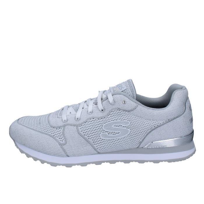 Blanc Femme Chaussures Baskets Bx344 Skechers 4L5ARj3