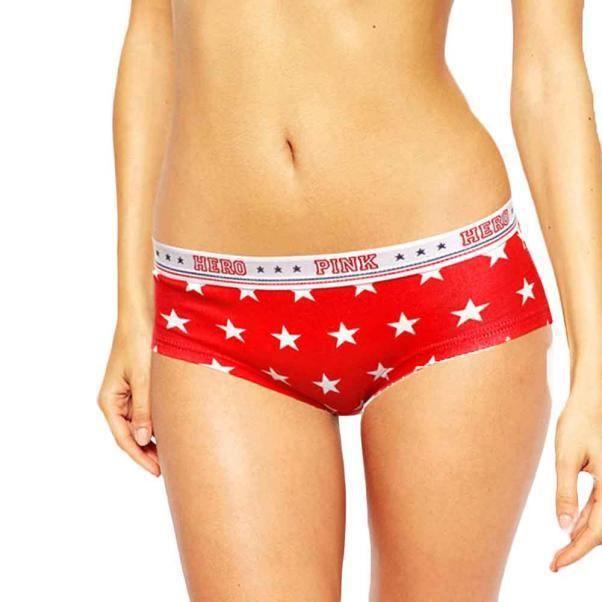 Caleçon Femmes Briefs Sexy L vêtements Lovers Boxer Sous rouge wfRUgnxqO