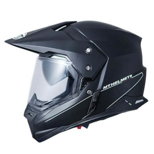 CASQUE MOTO SCOOTER CASQUE CROSS MT SYNCHRONY SV DUOSPORT SOLID --DOUB