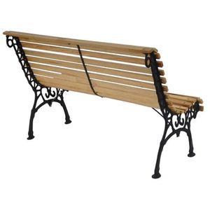 Banc de jardin en bois et fonte - Achat / Vente pas cher - Soldes ...