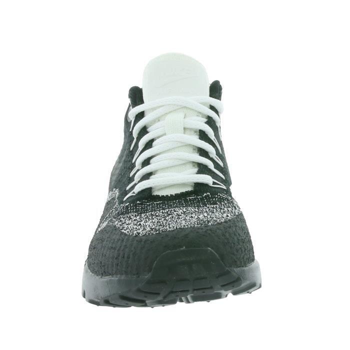 NIKE W Air Max 1 Ultra Flyknit Femmes Sneaker Noir 859517 001