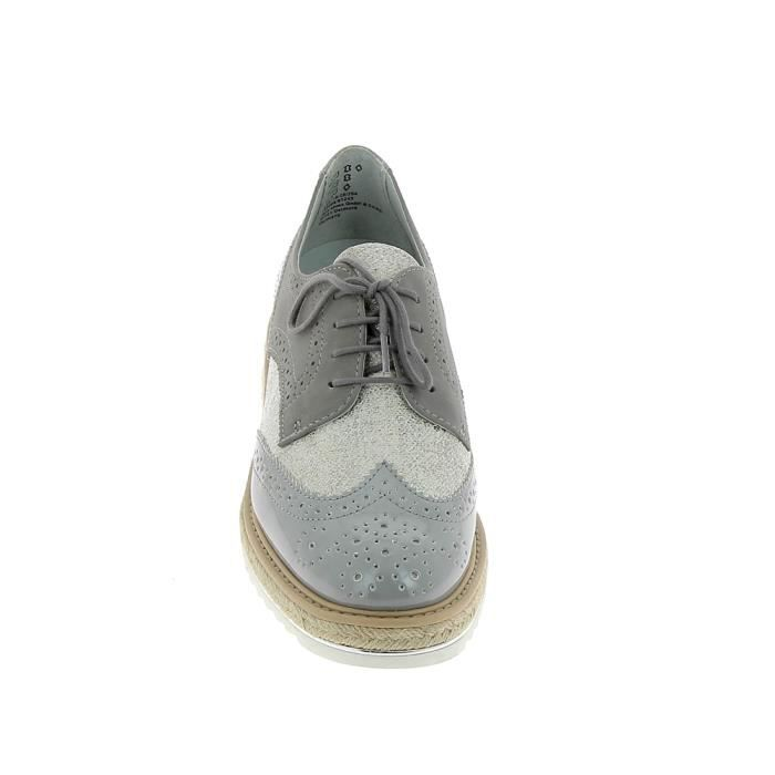 Chaussure de ville JANA Derby 23710 Gris nErcy