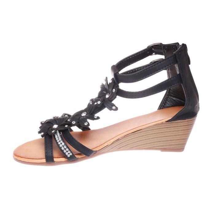 Chaussures Femmes Hiver plate Chaussures LLT-XZ060Gris36 ULhsZaY
