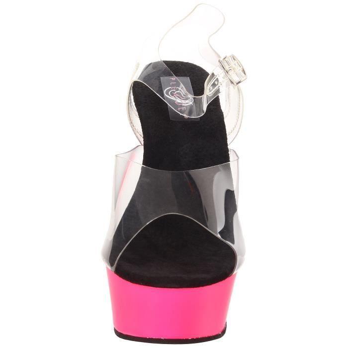 Pleaser Femmes Delight-608uv - c - np Platform Sandal LC47B Taille-41
