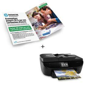 HP imprimante Envy 7640 + Forfait Instant Ink 100p