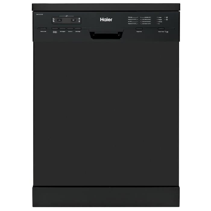 HAIER DW15-T2147B Lave-vaisselle posable - 15 couverts - 47 dB - A++ - Larg 59.6 cm