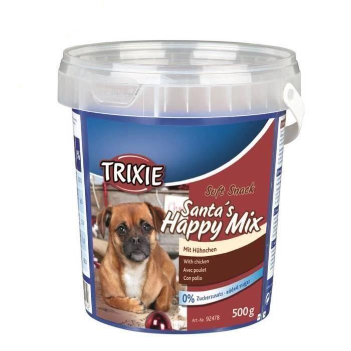 TRIXIE Lot de 2 Soft snack Friandise Spécial Noël pour chien 500g