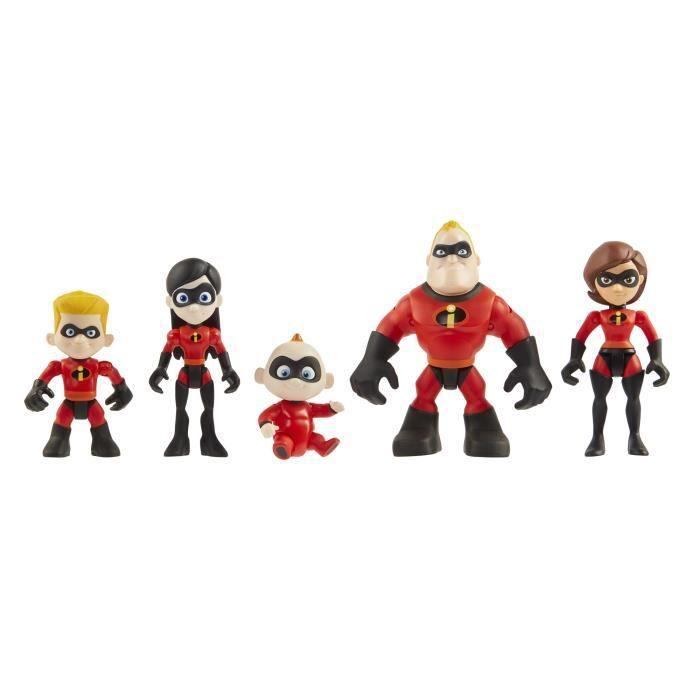 87c03232ebd935 LES INDESTRUCTIBLES 2 - Pack De 5 Figurines Précool 8 cm Famille ...