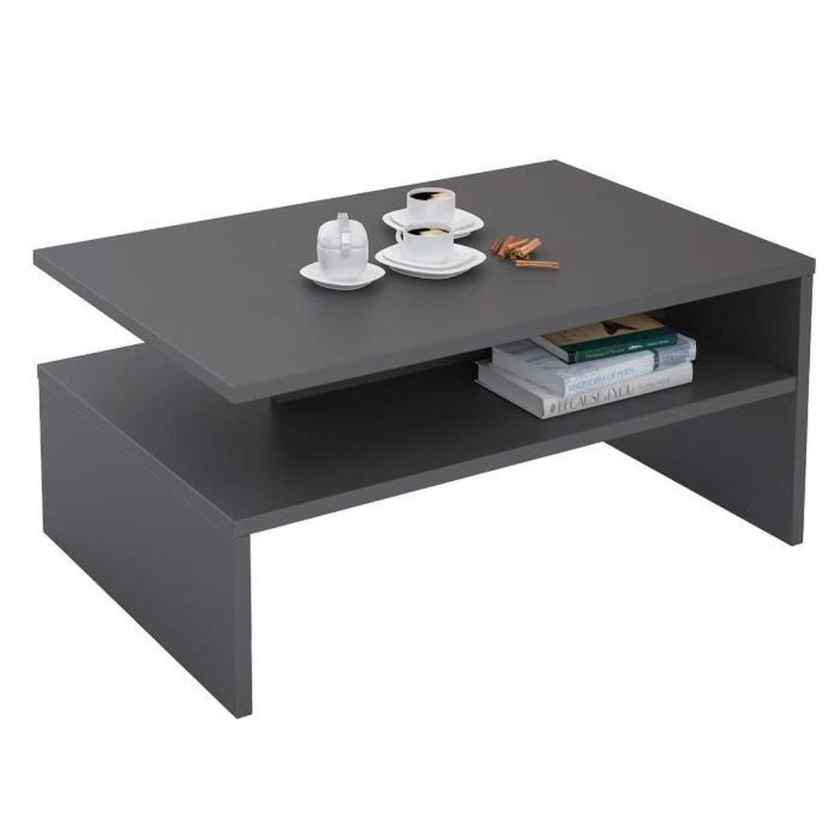 Tables Très Belle Table Basse De Style Romantique Avec 1 Tiroir Et Un  Espace De Ran.