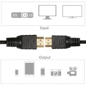 CÂBLE TV - VIDÉO - SON tenoens® 5FT - 1.5m Câble HDMI haute vitesse pour