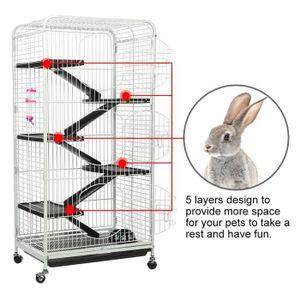 CAGE Cage de lapin Cage à cochon d'Inde Cage à rat en f