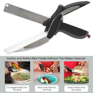 COUTEAU DE CUISINE  Nouveau Clever Cutter couteau couteau barbecue cou