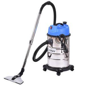 ASPIRATEUR INDUSTRIEL Aspirateur eau et poussière 1800W 30L vide industr