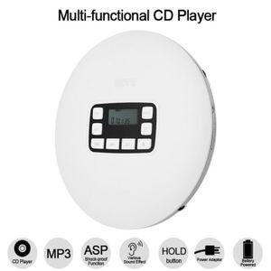 BALADEUR CD - CASSETTE HOTT CD 611 Lecteur CD portable LED Ecran de Lecte