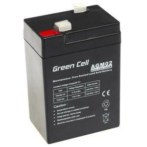 BATTERIE VÉHICULE Batterie AGM VRLA Green Cell 6V 4.5Ah