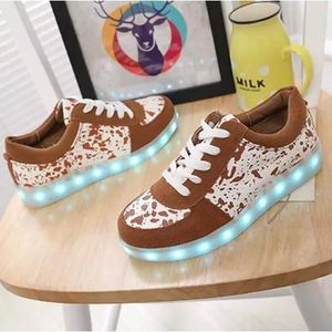 Chaussures Mode LED rechargeable Sport Light-Up... 1WD5tvKzcR