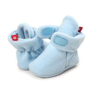 BOTTE Bottes de neige à semelles souples pour bébé Chaussures de crèche souples Bottes pour tout-petits@BrownHM mlmRNp