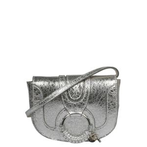BESACE - SAC REPORTER SEE BY CHLOÉ FEMME CHS19SS901521 ARGENT CUIR SAC P a1c0ee7bc56