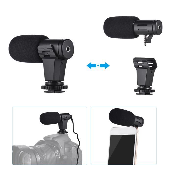 Mobile Phone Microphone Universal Mini Portable Video Record For Dslr Cameras