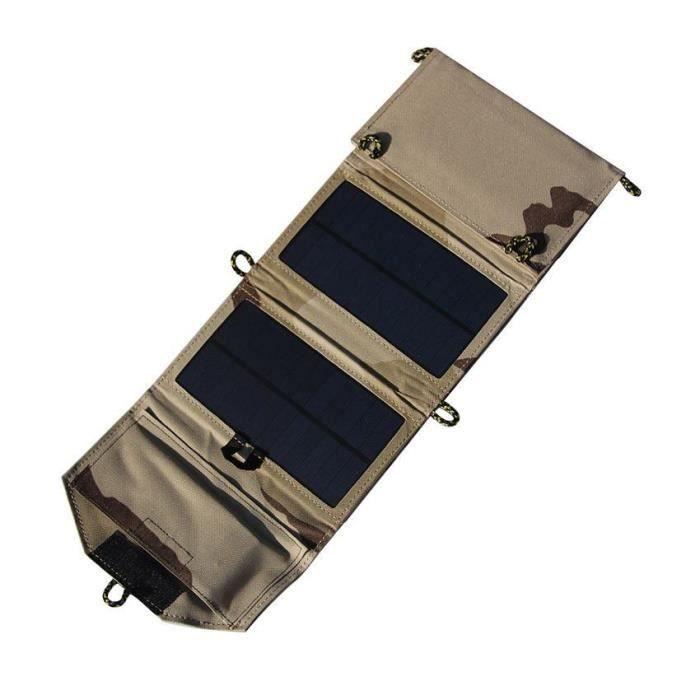 chargeur solaire portable pour t l phone pliant panneau solaire chargeur solaire de batterie. Black Bedroom Furniture Sets. Home Design Ideas