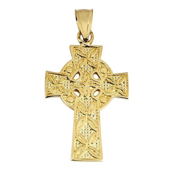 Pendentif 10 ct 471/1000 Or irlandaise Croix Celtique