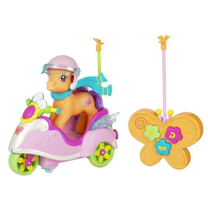 My Little Pony Poney Scootaloo et Scooter RC - Achat / Vente voiture - camion - Cdiscount