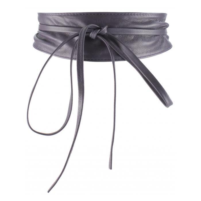 a603fa3bb1cc Ceinture Cuir Femme (Violet Fonce - TU) - Achat   Vente ceinture et ...