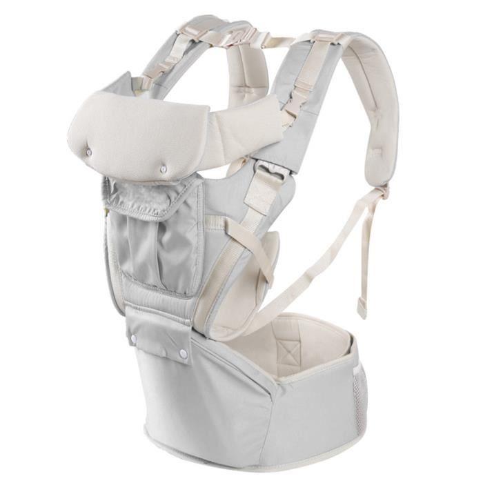 bf73458465031 Nouveau-né bébé transporteur respirant ergonomique ajustable wrap ...
