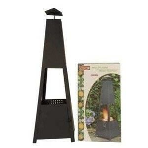 brasero jardin design chauffage exterieur grille