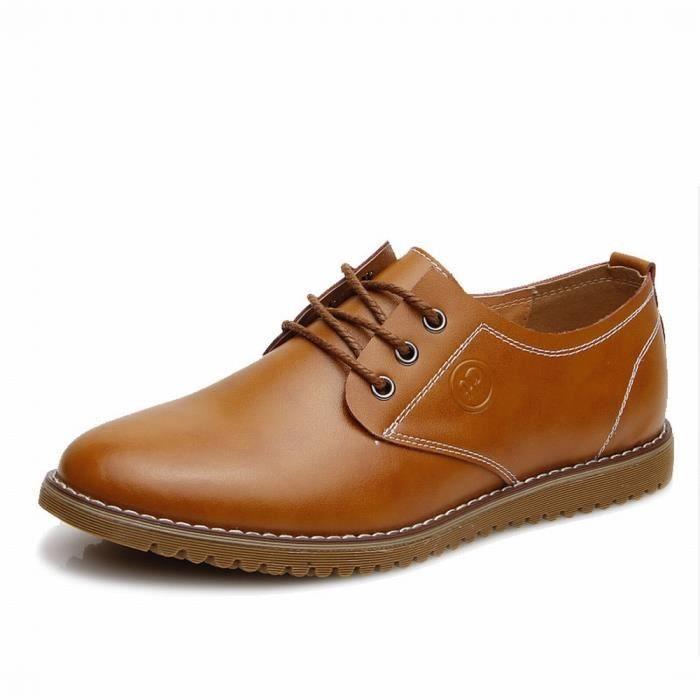 Chaussures En Cuir Homme Soulier Habillées Chaussures De