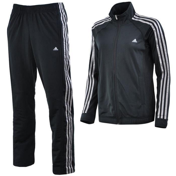 CLIMA KNIT SUIT BKS - Survêtement Entrainement Femme Adidas Noir ... 62678417da1