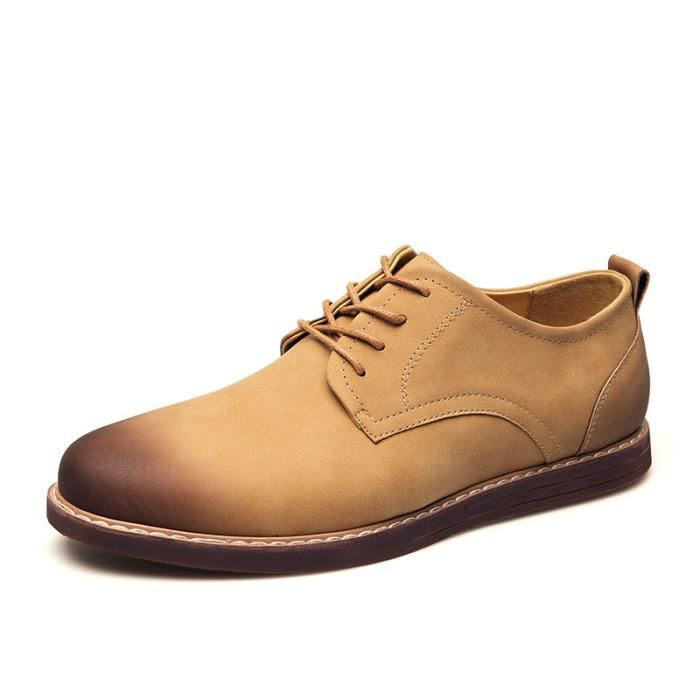 IZTPSERG derby Homme style Casual à lacets