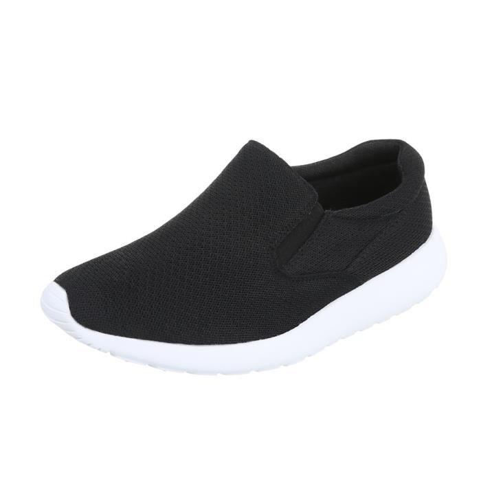 Chaussures femme chaussures sportde sportmocassin Sneakersnoir 41 W1nsfhZ5xB