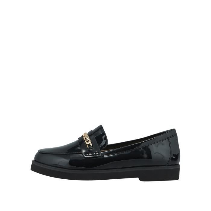 Louvel Loafers noir Femme 1175070
