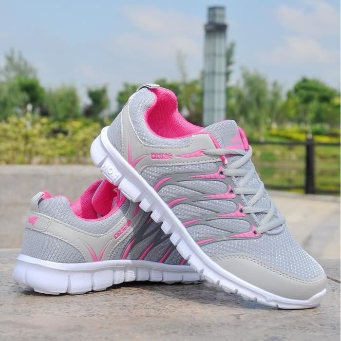 Chaussures Baskets de à respirant sport chaussures décontractées de course Chaussures femmes pour TCwTq8FxZ