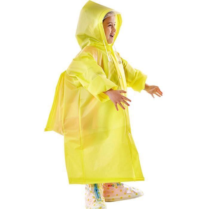 design intemporel cb055 61794 Poncho enfant avec sac à dos cover, pluie hiver imperméable ...