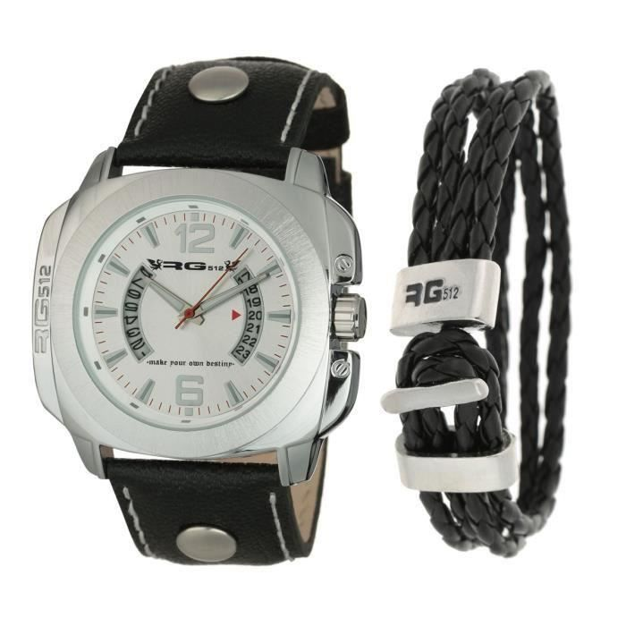 Montre Et Destockage Bracelet Pack Au Rg512 Homme Coffret CQodeExWrB