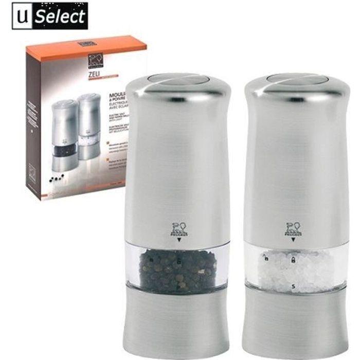 moulin a poivre et sel peugeot electrique - achat / vente moulin a