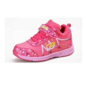 Basket Enfant hiver Sport Plus cachemire Ultra léger Chaussure BXX-XZ211Rouge30-2 BOuD53