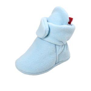 BOTTE Bottes de neige à semelles souples pour bébé Chaussures de crèche souples Bottes pour tout-petits@CaféHM HthmmtaPP2