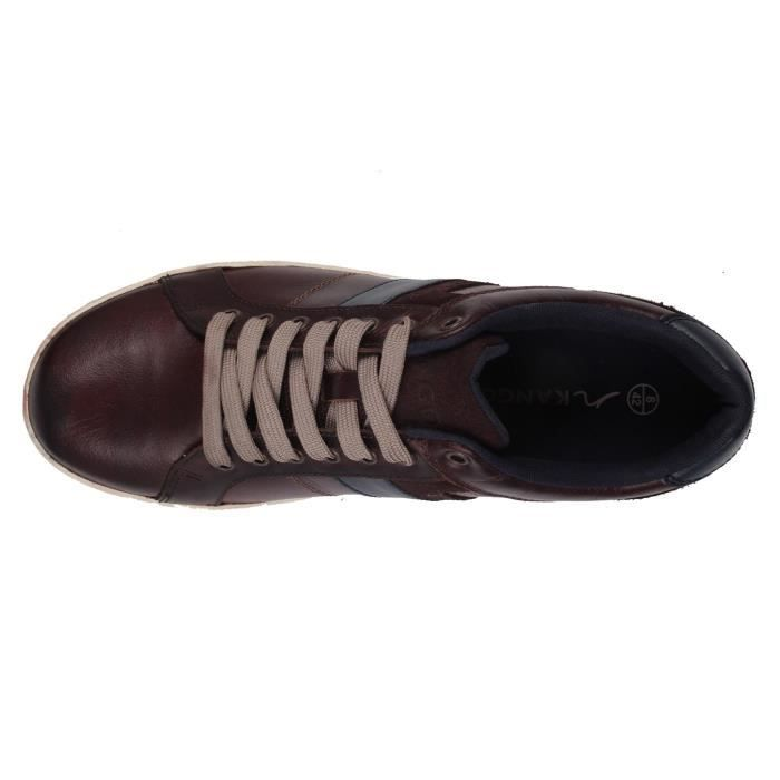 Kangol Canary Casual Homme Chaussures Décontractées En Cuir UTo3GO5nD